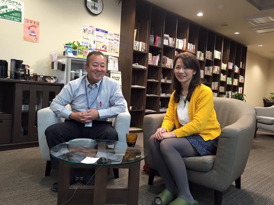 オーナー米澤寿展が山下さんインタビュー