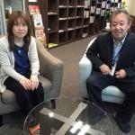 景山純子さんに米澤寿展インタビュー
