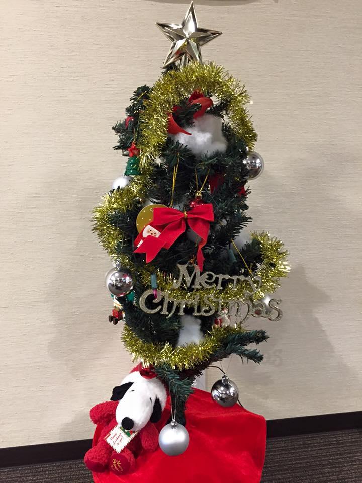 クリスマスツリー作成