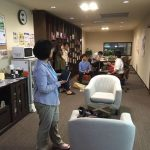 「昨年の今日は勉強カフェ岡山スタジオプレオープンでした!」