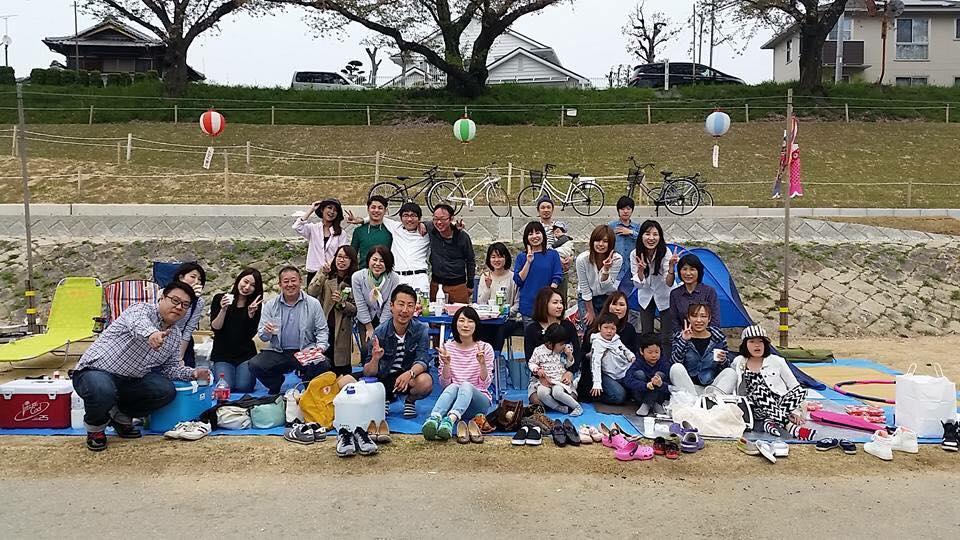 勉強カフェ岡山スタジオ【第1回】お花見_2